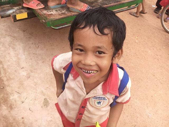 [캄보디아] 깜뽕트랏 지역의 교실 신축지원